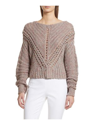 RAG & BONE Roman Pointelle Ribbed Sweater