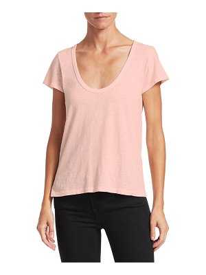 Rag & Bone scoop neck tee