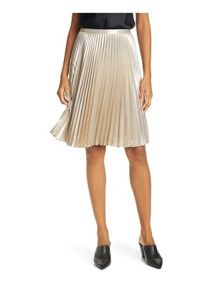 Rag & Bone vilma pleated satin skirt