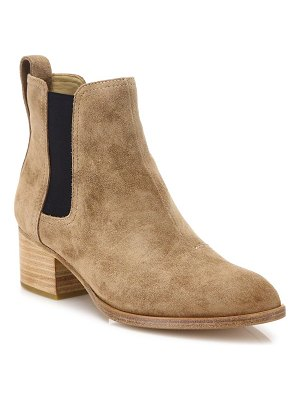 Rag & Bone walker suede block heel booties