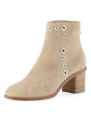 Rag & Bone Willow Suede Grommet Booties