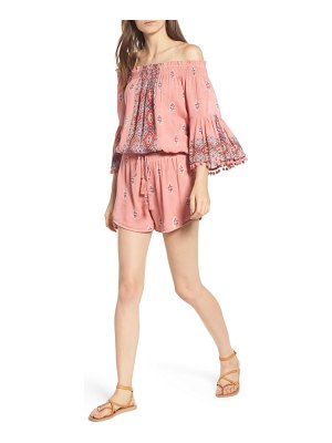 Raga endless love off the shoulder romper