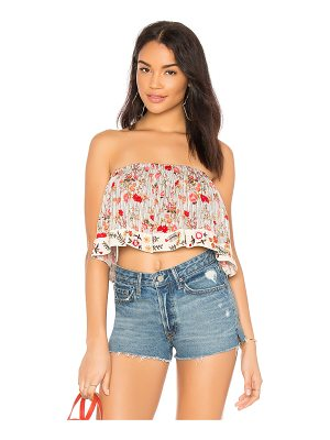 Raga Primrose Sleeveless Crop In Multi