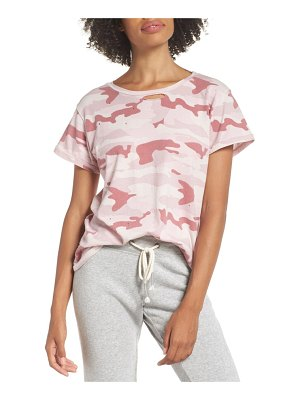 Ragdoll distressed camo tee