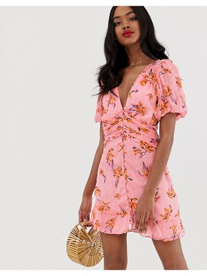 RahiCali rahi fiesta mila floral mini dress