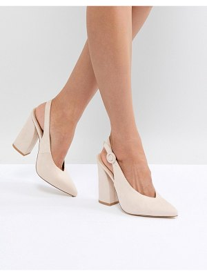 Raid brook block heeled shoes