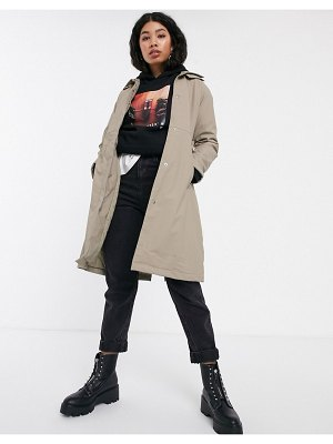 Rains belted trench coat-beige