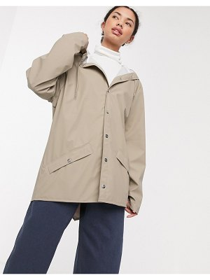 Rains short jacket-beige