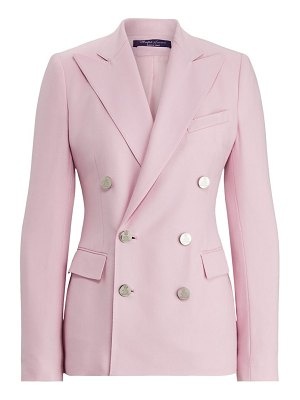 Ralph Lauren Collection camden double breasted cashmere blazer