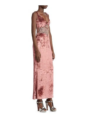 Ralph Lauren Collection 50th anniversary annetta velvet evening dress