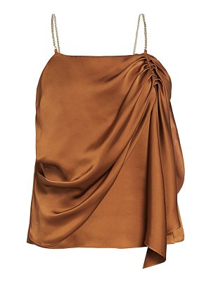 Ramy Brook chrissy draped sleeveless top