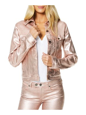 Ramy Brook Claudia Metallic Cropped Jacket