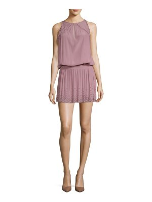 Ramy Brook hilary studded blouson dress
