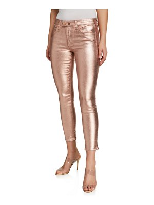 Ramy Brook Kate Metallic Skinny Jeans