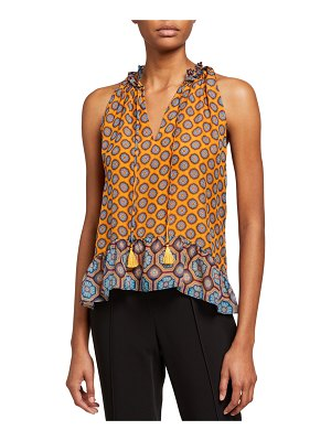 Ramy Brook Lenore Printed Blouse