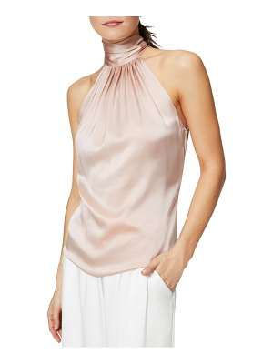 Ramy Brook lori stretch silk halter top