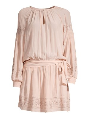 Ramy Brook mia chiffon tunic dress