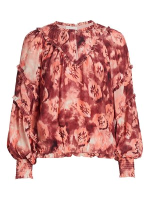 Ramy Brook printed raquel blouse