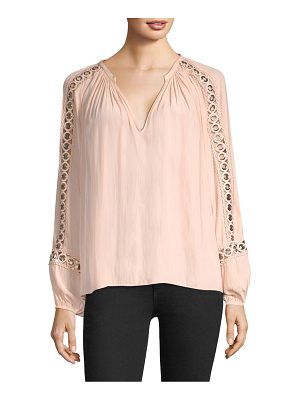 Ramy Brook sera grommet sleeve blouse