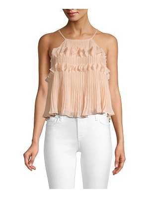 Ramy Brook shauna chiffon sleeveless top