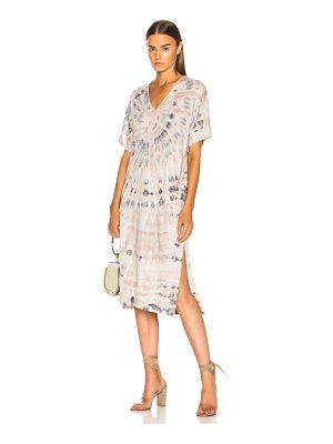 Raquel Allegra V Neck Boxy Dress