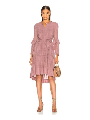 Raquel Allegra Victorian Ruffle Dress