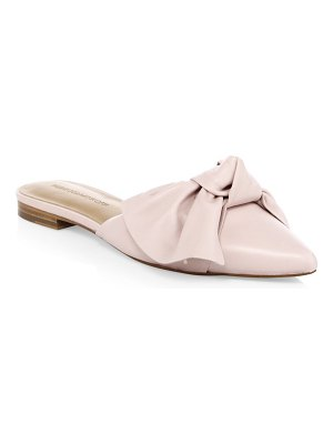 Rebecca Minkoff alexis leather slippers