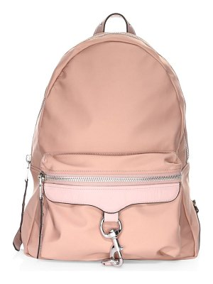 Rebecca Minkoff always on nylon m.a.b. leather backpack