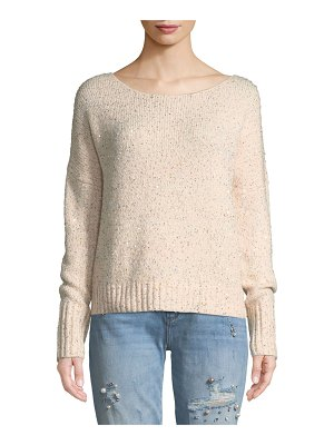 Rebecca Minkoff Brinkley Mock-Neck Ombre Pullover Sweater