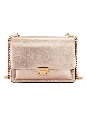Rebecca Minkoff Christy Medium Metallic Leather Shoulder Bag