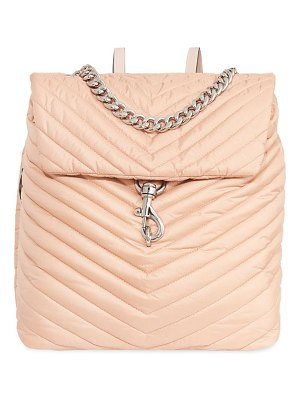 Rebecca Minkoff edie chevron-quilted nylon backpack