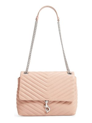 Rebecca Minkoff edie flap quilted leather shoulder bag