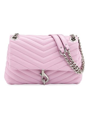 Rebecca Minkoff Edie Quilted Leather Flap Crossbody Bag