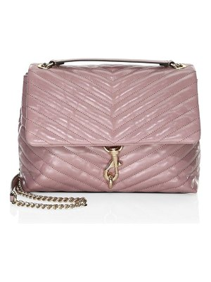 Rebecca Minkoff edie leather flap shoulder bag