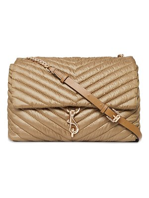 Rebecca Minkoff extra-large edie quilted flap shoulder bag