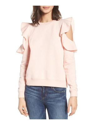 Rebecca Minkoff gracie cold shoulder sweatshirt