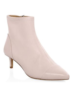 Rebecca Minkoff kitten heel leather booties