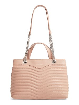 Rebecca Minkoff mab quilted leather satchel