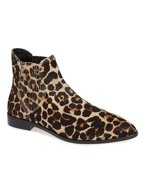 Rebecca Minkoff madysin too genuine calf hair chelsea bootie