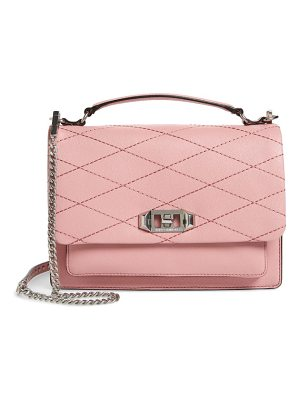 REBECCA MINKOFF Medium Je T'Aime Convertible Leather Crossbody Bag