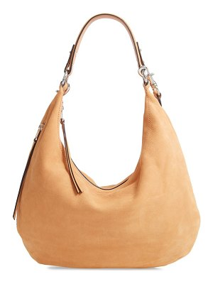 Rebecca Minkoff michelle nubuck leather hobo