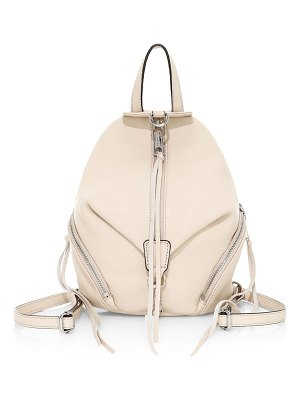 Rebecca Minkoff mini julian leather backpack
