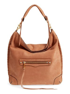 REBECCA MINKOFF Slim Regan Leather Hobo