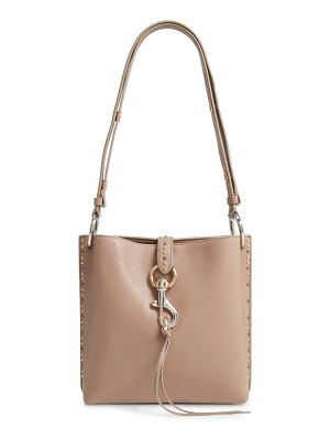 Rebecca Minkoff small megan leather shoulder feed bag