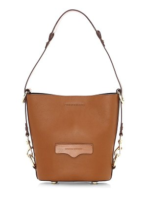 Rebecca Minkoff small utility convertible leather bucket bag