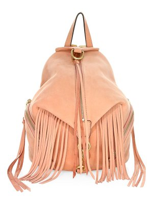Rebecca Minkoff stevie fringe leather backpack