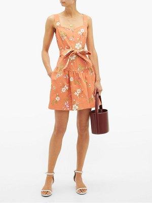 Rebecca Taylor lita floral-print cotton dress