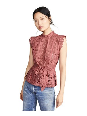 Rebecca Taylor sleeveless karina top