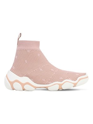 Red Valentino 30mm mesh sock sneakers