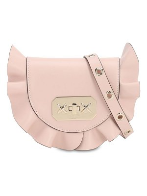 Red Valentino Audrey leather shoulder bag